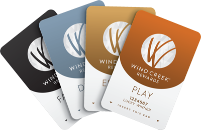 Wind Creek Reward Cards